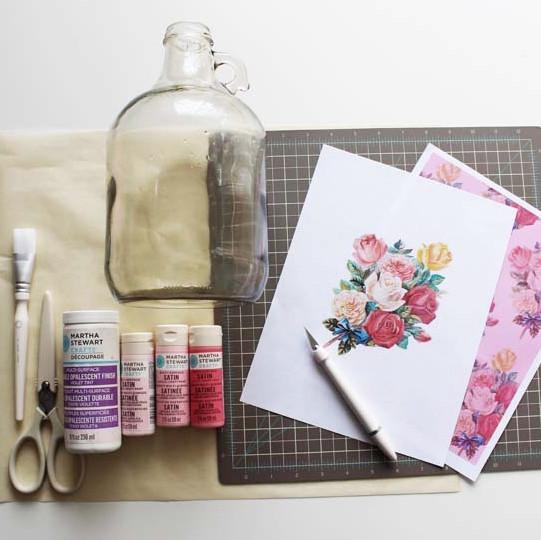 poppytalk-decoupage-bottle-vase-materials.jpg