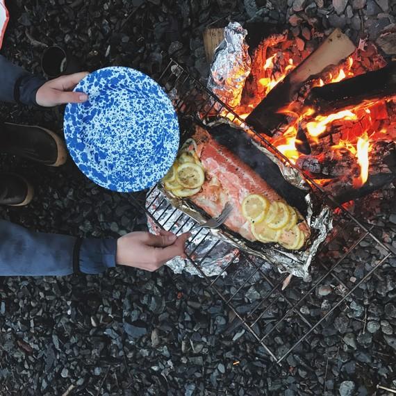 drifters fish sockeye salmon campfire