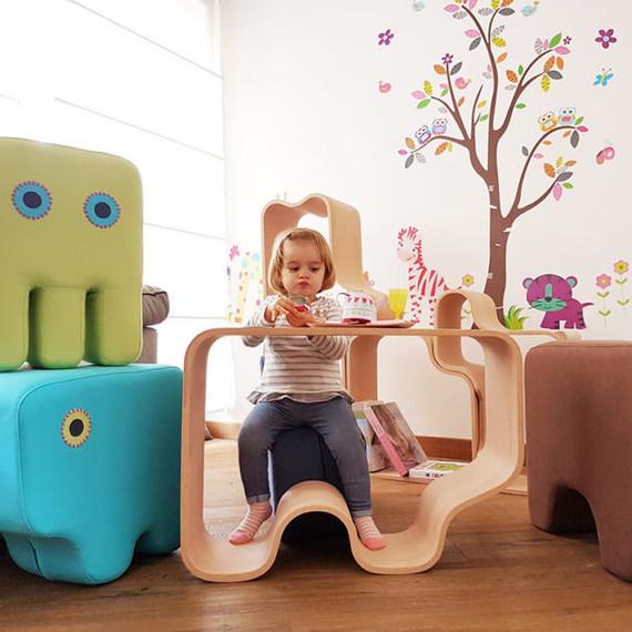 multi function kids furniture playing