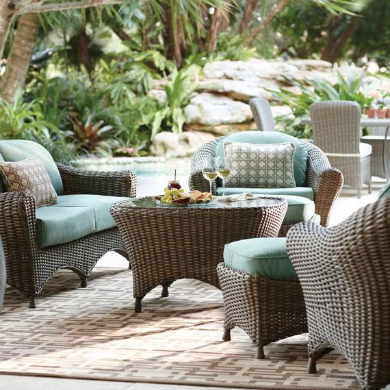 Thd patio seating blue lakeadela mrkt 0215 jpgLooking to Refresh Your Patio  Here Are 3 Looks to Try    Martha  . Martha Stewart Living Patio Furniture Lake Adela. Home Design Ideas