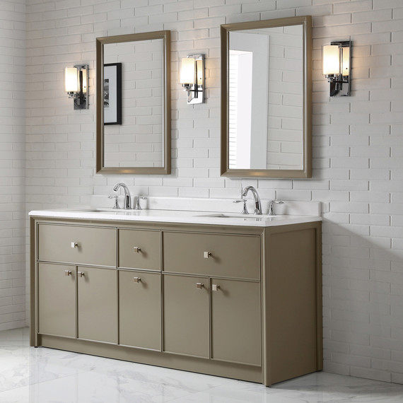 mushroom home depot drawer bath vanity. Check Out Martha s New Line of Bath Vanities for The Home Depot