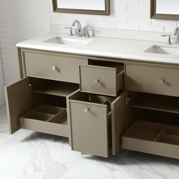 check out martha's new line of bath vanities for the home depot