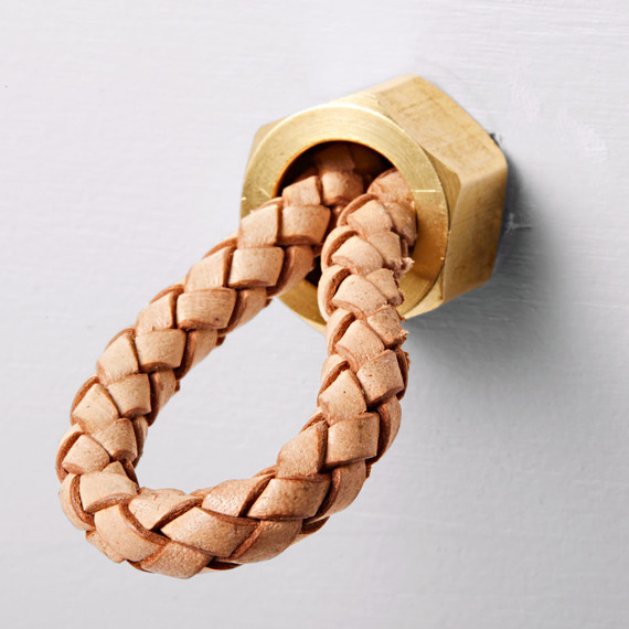 dresser handle upgrade braided leather cord loop