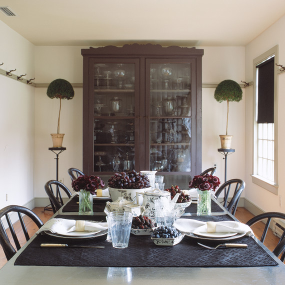 Martha\'s Turkey Hill Dining Room: 5 Bold Ideas for Decorating with ...