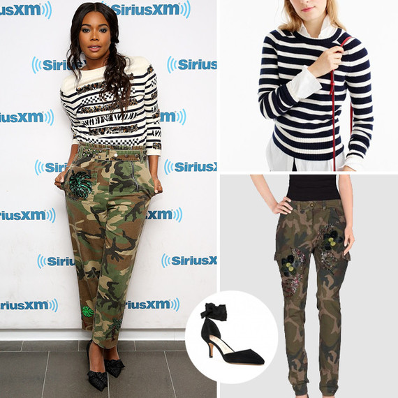 gabrielle union holiday look