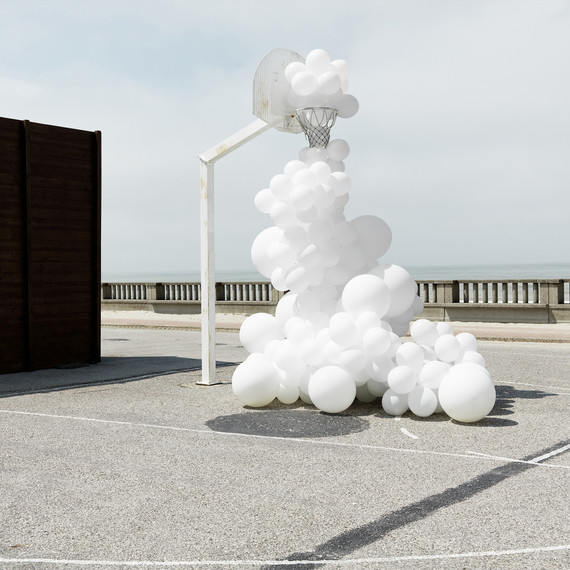 cloud balloons by Charles Petillon