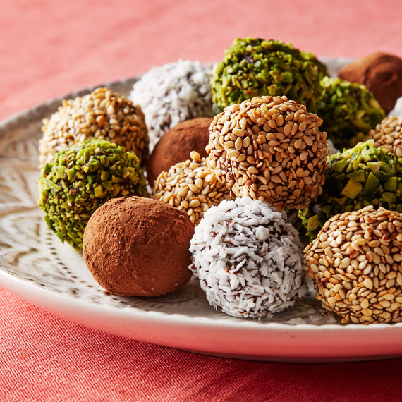 date truffles seeded cocoa