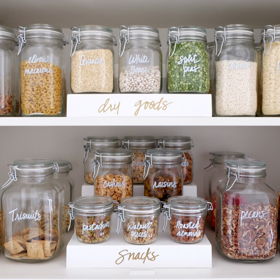 Labelling Food In A Kitchen
