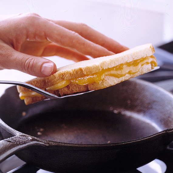 Grilled Cheese Flip how to