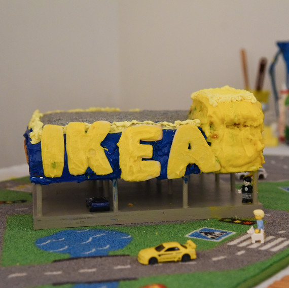 Ikea recreated at the Great Architectural Bake-Off