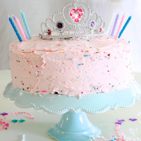 Pink Princess Party Cake