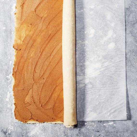 Cinnamon-Swirl Apple Slab Pie