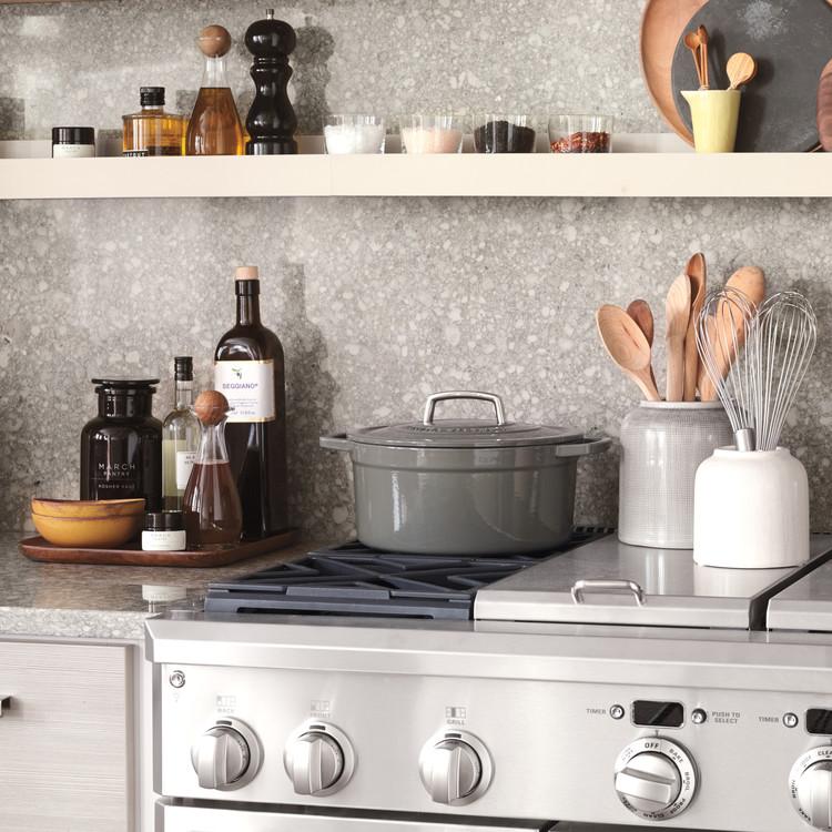 Kitchen Shelf Above Stove: Secrets Of A Hardworking Kitchen
