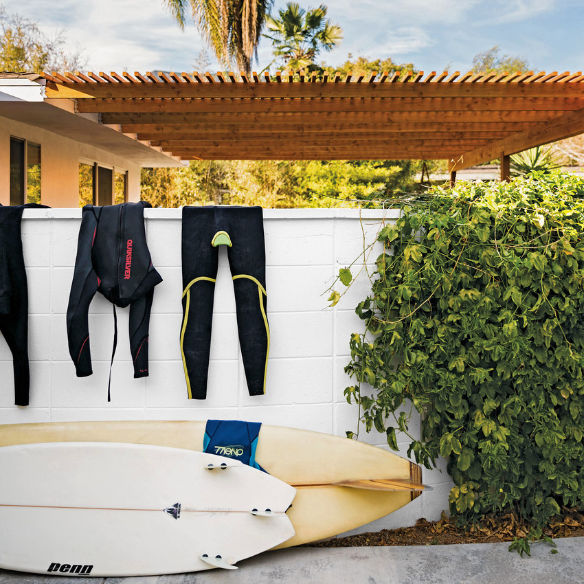 surfboards wetsuits
