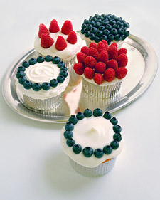 4th of July, 4th of July cupcakes, 4th of July DIY