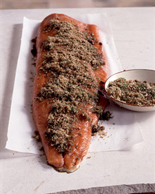 Brown-Sugar Gravlax