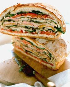 Sort of a Hero Sandwich, Recipe from Martha Stewart Living, July ...
