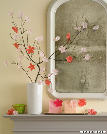Spring Decorating Ideas - Martha Stewart Accents & Details
