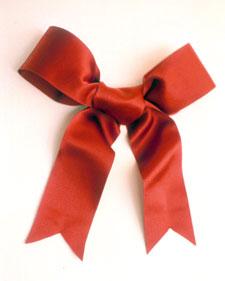 tying a wreath bow martha stewart. Black Bedroom Furniture Sets. Home Design Ideas