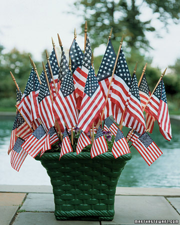 Flag Planter Display
