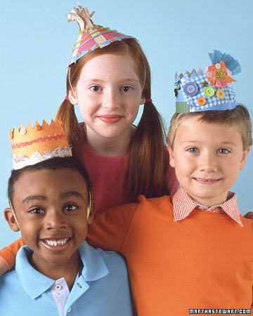 Party Hat and Crown Templates