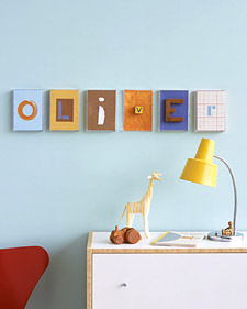 Nursery Art - Recipes, Crafts, Home Décor and More | Martha Stewart