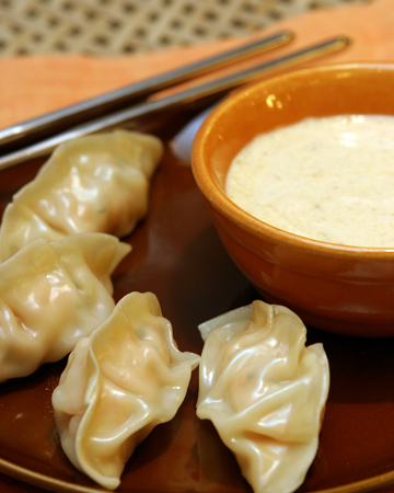 Chicken and Thai Basil Dumplings