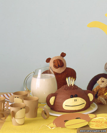 Monkey Party Decorations Martha Stewart