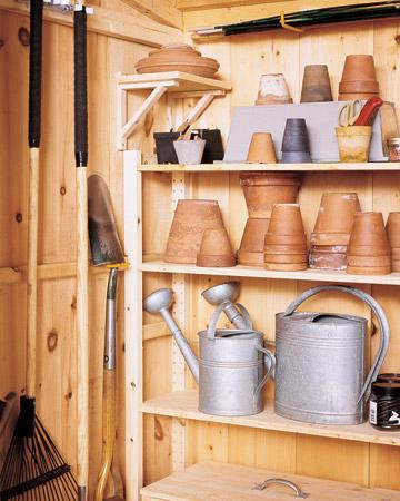1000 images about shed organization on pinterest for Martha stewart garage organization
