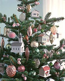 Winter Village: Tree Ornament How-To | Martha Stewart