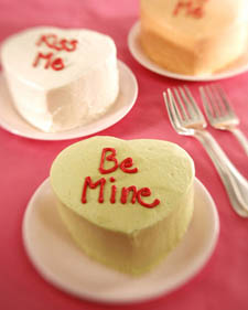 Mini Heart-Shaped Cake
