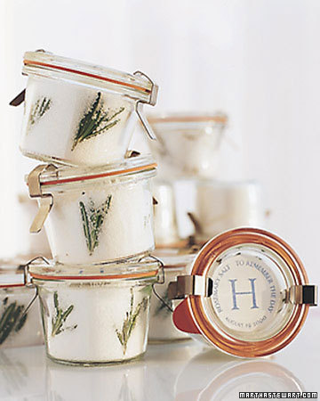 Rosemary Sea Salt Favor Step By Step DIY Craft How To S And Instructions