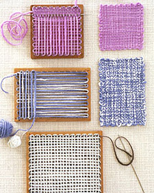 1000 images about felting and weaving on pinterest for Martha stewart crafts knit weave loom kit