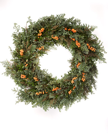 Christmas: Holiday Wreaths - Martha Stewart