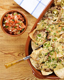 Nachos, Quesadillas, and More