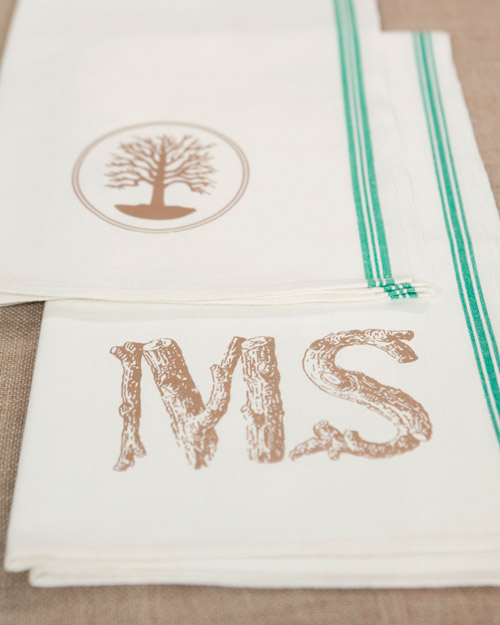 Martha Stewart Kitchen Towels: Personalized Tea Towel Craft