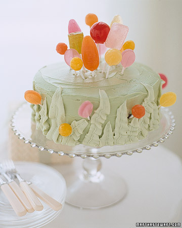 Birthday Cakes Decorated With Gumdrops