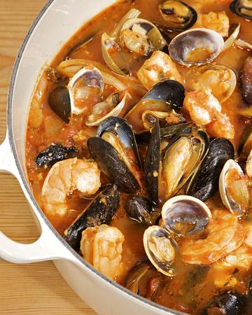 Quick Seafood Cioppino Recipe | MyRecipes.com