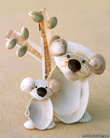 Craft Ideas Images on Summer Living  Shell Crafts   Martha Stewart