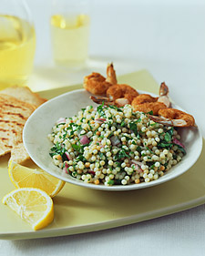 Toasted-Couscous Tabbouleh_image