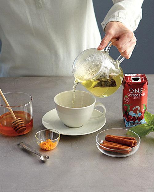 Coffee-Berry Green Tea