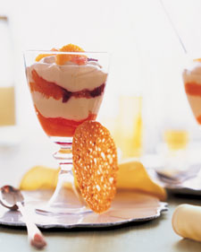 Citrus and Caramel Mousse Parfaits