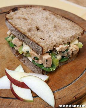 Tuna Fish Recipes on Fish And Shellfish Recipes  Seafood Sandwich Recipes   Martha Stewart