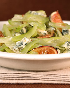 Celery, Fig, and Gorgonzola Salad