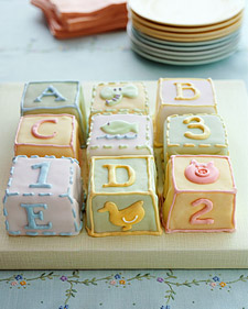 How Make Building Block Cake Decorating Blocks Video
