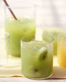 Fresh Kiwi-Grape Juice