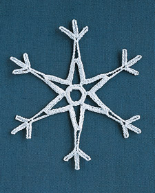 Crochet Christmas Snowflake Patterns