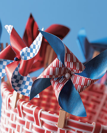 Summer Living: Patriotic Red, White, and Blue Crafts and Party ...