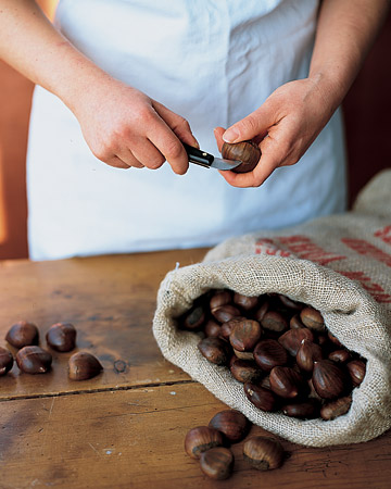 How to Select and Slice Chestnuts