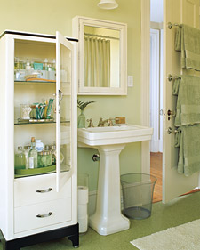 Smart, Space-Saving Bathroom Storage - Recipes, Crafts, Home Décor
